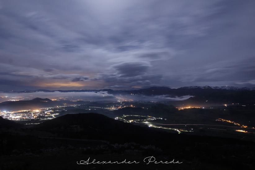 Nocturna en Peña Cabarga